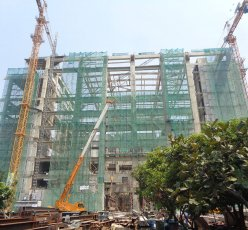 Convention Theater Jakarta Under Construction