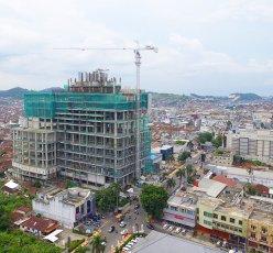 Hotel Mercure Lampung Construction Phase