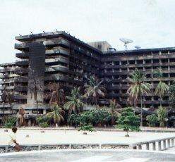 Bali Beach Hotel: after a fire damage