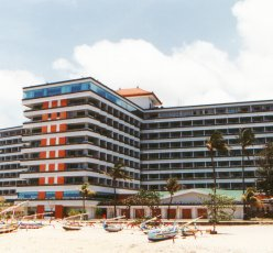 Bali Beach Hotel after fire damage restoration