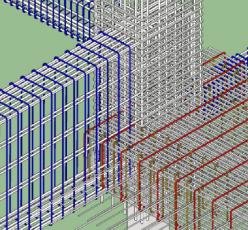 The Pakubuwono Menteng 3D Sambungan Bandbeam Kolom Dan Balok