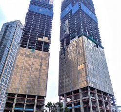 The Supertall Indonesia-1 Tower